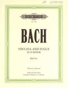 Johann Sebastian Bach: Toccata und Fuge d-Moll BWV 565, Noten