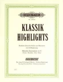 Verschiedene: Klassik-Highlights, Noten
