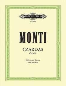 Vittorio Monti: Czardas (Csárdás), Noten
