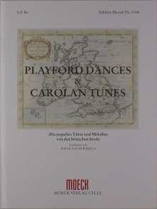 Turlough O'Carolan: Playford Dances & Carolan Tunes, Noten