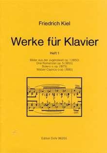 Friedrich Kiel: Werke für Klavier, Noten