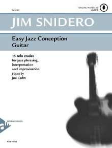 Jim Snidero: Easy Jazz Conception Guitar, Noten