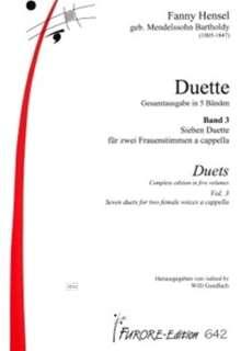 Duette, Noten