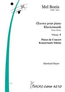 Mel Bonis: Klavierwerke Band 4 Pieces de concert, Noten