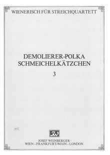 Eduard Strauss: Wienerisch für Streichquartett, Noten