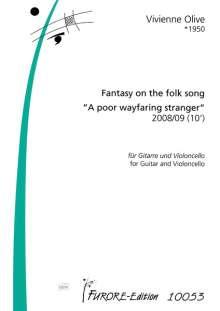 Vivienne Olive: Fantasy on the folk song, Noten