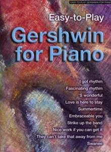 George & Ira Gershwin: Gershwin for Piano, Noten