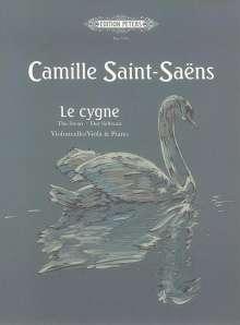 Camille Saint-Saens: Le cygne (Der Schwan), Noten