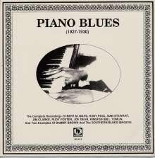 Piano Blues 1927-1930, LP